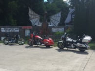 Three bikes from the North