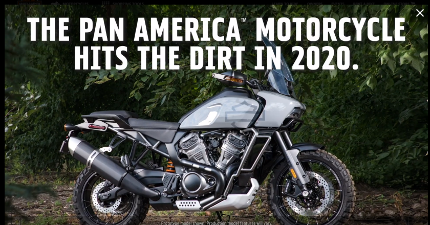 HarleyPanAmerica