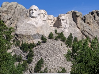 There are many pictures of Rushmore, but this one is mine.